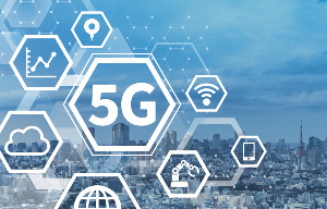 Abstract image of 5G